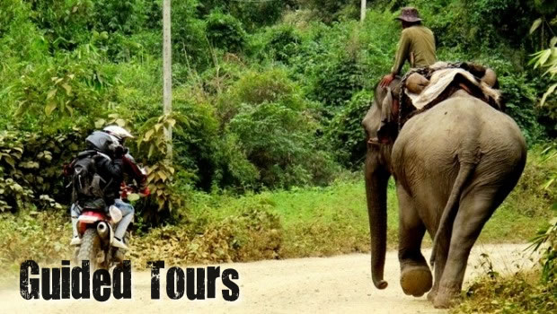 Motorbike Tours in Laos