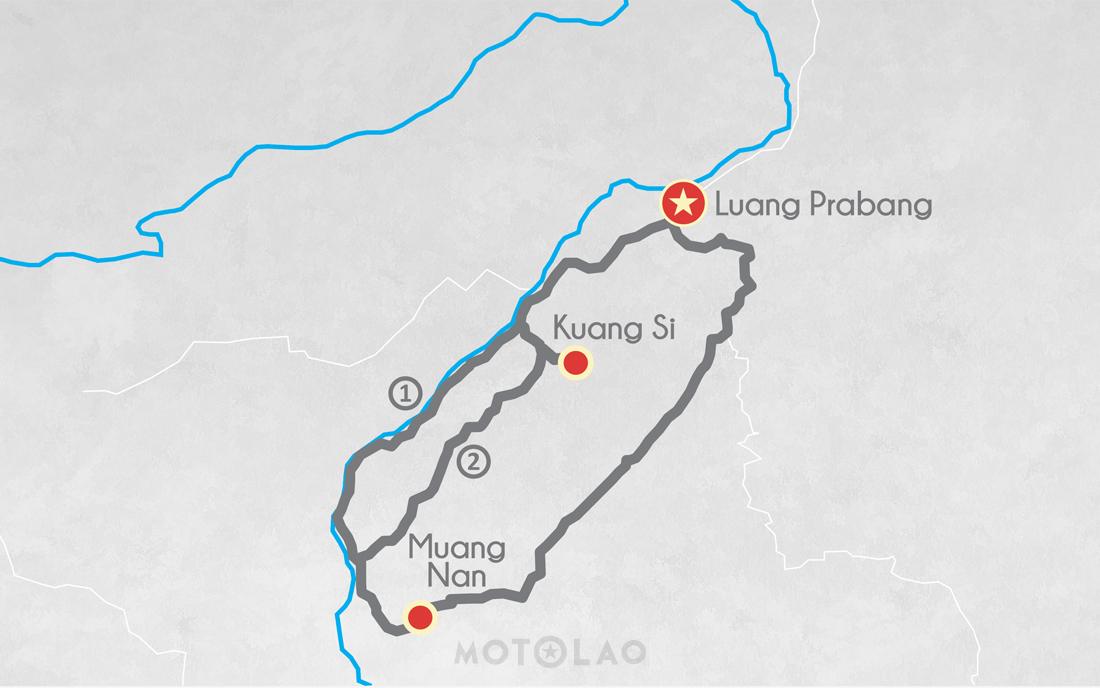 Motorbike tour Laos MTO-1 A