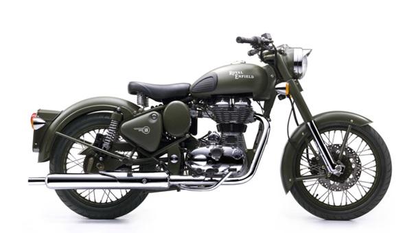 Motorbike Laos Royal Enfield 500cc Bullet