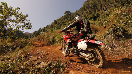 one day motorbike tour laos
