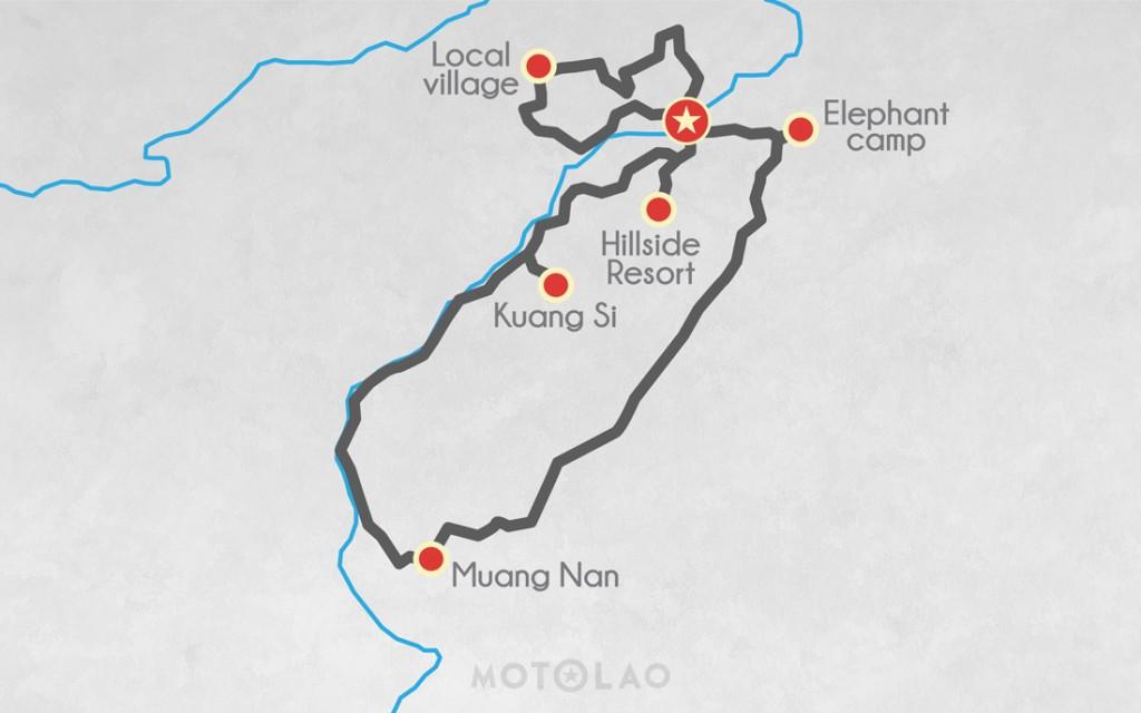 MTO-2-B motorbike Laos 2 days