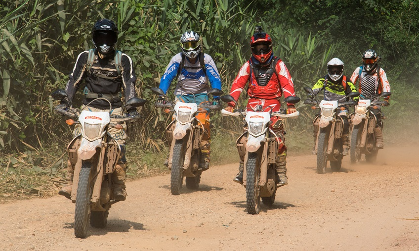 Motorbike Tour in Laos